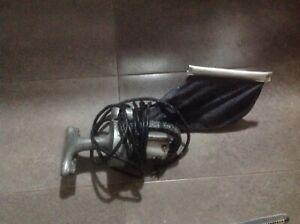Old Antique Vintage GE General Electric Hand Held Electric Vacuum Cleaner&Bag AI