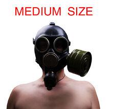 "Soviet gas mask ""Gp-7 K"". Steampunk. Black gas mask. Gas mask MEDIUM SIZE(2)"