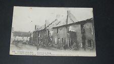 CPA CARTE POSTALE GUERRE 14-18 1915 BATAILLE MARNE PORT-A-BINSON BOMBARDEMENT