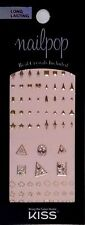 Kiss Nails Nailpop Jewel Crystal Nail Stickers -  DMT 116 Shapes