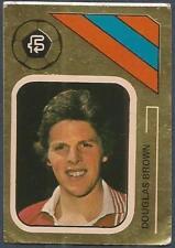 FKS 1978/79 SOCCER STARS GOLDEN COLLECTION- #313-ABERDEEN-DOUGLAS BROWN