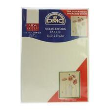 DMC Dc28/10 | 14 Count Aida Cloth 50 X 75cm Cross Stitch Ecru