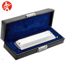 Hohner 7565-C Meisterklasses Chromatic Professional Harmonica Key of C with Case