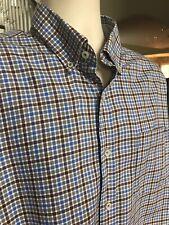 Alex Cannon Mens Modern Medium Plaid Sportshirt