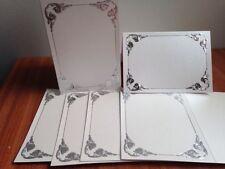 Altre carte, veline e cartoni bianchi per hobby creativi
