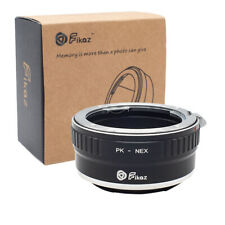 Fikaz Adapter Pentax K PK Objektive auf Sony E NEX a3000,a5000,a6000,a6300,a6500