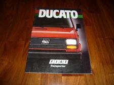 Fiat Ducato Prospekt 09/1987