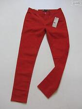 Coloured Damen-Jeans im Jeggings -/Stretch-Stil mit mittlerer Bundhöhe