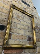 Rococo Baroque Gold Gilt & Gesso Detail Vintage Picture Frame, Medium - Large