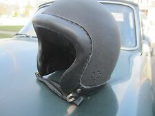 VINTAGE MOTORCYCLE LEATHER TRIM HELMET BELL BUCO ...?
