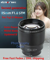 New Version Viltrox 85mm F1.8 II AF STM Portrait Lens for Fujifilm Fuji X-T30 T4