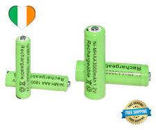 2x Rechargeable Batteries AA  3000mAh / AAA 1800mAh 1.2V Battery Ni-MH Universal