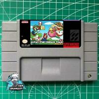 SMW The Crown Tale SNES Video Game USA version