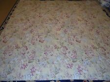 Nice Yellow Floral Whole Cloth Printed Quilt