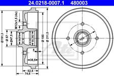 2x Bremstrommel für Bremsanlage Hinterachse ATE 24.0218-0007.1