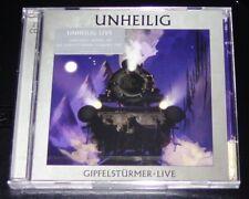 UNHEILIG GIPFELSTÜRMER LIVE LIMITÉE DOUBLE CD EXPÉDITION RAPIDE