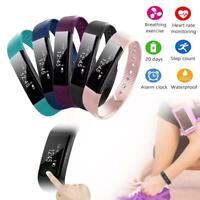 Kid Adult Smart Bracelet Watch Fitness Activity Tracker Monitor Pedometer