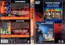 DVD Explosion imminente + The Last Patrol