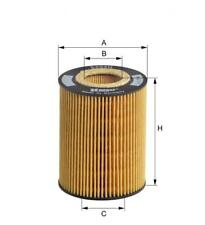 BMW Oil Filter E60 E63 E64 E65 E66 X5 E53 N62 V8 11427511161 - Hengst