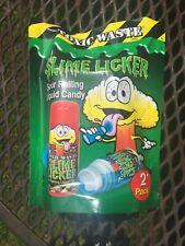 TIKTOK Toxic Waste Slime Lickers Set Of 2 Blue Razz Raspberry Strawberry TIK TOK
