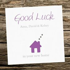Handmade New Home/House Personalised Card Housewarming