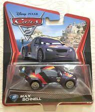 Disney Pixar Cars 2 diecast MAX SCHNELL No: 21 Brand New