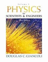 Physics For Scientists And Engineers Volume 1 by Douglas C Giancoli