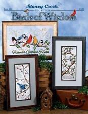 Birds of Wisdom by Stoney Creek BK492 Christmas cross stitch pattern