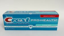 Crest Pro Health Clean Mint Toothpaste Smooth Formula 3.3 oz