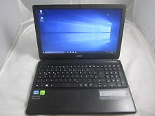 ACER Aspire e1-570g, webcam, 500gb HDD, Windwos 10,6gb di RAM