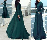Vestito Lungo Donna Autunno - Woman Autumn Maxi Dress 110125
