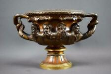 Antique French Neo Classical Bronze Warwick Vase