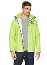$200 Marmot Men Green PreCip Nano Waterproof Breathable Hooded Zip Jacket Size S