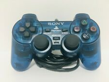 Playstation 2 PS2 Dualshock 2 Controler Blue SCPH-10010