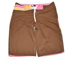 Unifarbene Herren-Boardshorts aus Polyester mit regular Länge