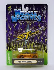MUSCLE MACHINES '01 TOYOTA MR2 SSTuner Die-Cast Car MOC COMPLETE 2003
