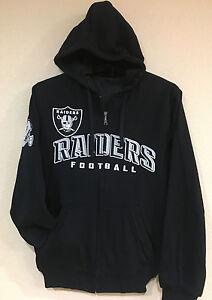 Oakland RAIDERS Power Reversible Hoodie by G-III-Embroidery logo - NFL Licensed
