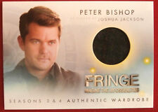 FRINGE (J.J.Abrams) - Seasons 3 & 4 - PETER'S JACKET, COSTUME CARD - Cryptozoic