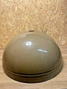 Lamp Suspension Lampshade Day Globe Design Space Age Vintage, Plastic Brown, 60'