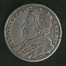 Vatican : Piastre Argent 1702 Clément XI