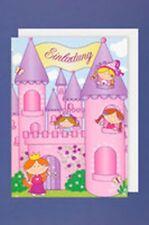 PARTY biglietti da invito 5 pezzi INVITI CON BUSTA Principessa