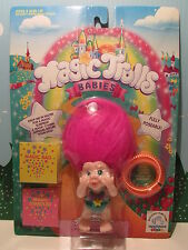 "3"" ZABRINA - 1991 Applause Troll Doll - NEW IN ORIGINAL PACKAGE"