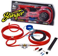 SK4241 STINGER 4 GAUGE 4000 GA AMP POWER WIRE AMPLIFIER INSTALLATION KIT SK-4241