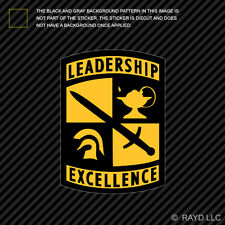 U.S. Army ROTC Sticker Decal Self Adhesive Vinyl leadership excellence