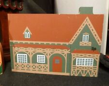 Vintage Wood Model Country Clergyman Cottage Andrew Jackson Downing FOLK ART