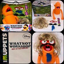 FAO SCHWARZ Muppet Workshop ORANGE Whatnot Kit (ToysRUs) INCOMPLETE