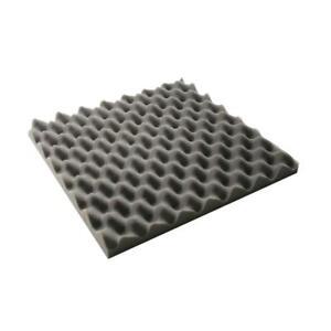 Noppenschaum anthrazit Akustikschaum Dämmung Schaumstoff Schallschutz