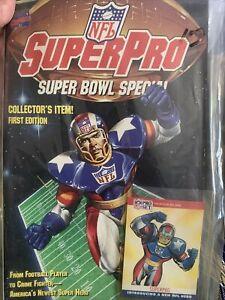 Marvel Comics NFL SuperPro Super Bowl Special 1st Edition Collector's Comic Book
