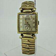 Vintage Gruen Veri-Thin Precision 430 17J 10k Gold Filled Watch Parts