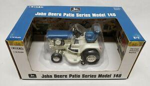 1/16 Ertl John Deere 140 Patio Series Precision Lawn Garden Tractor Spruce Blue